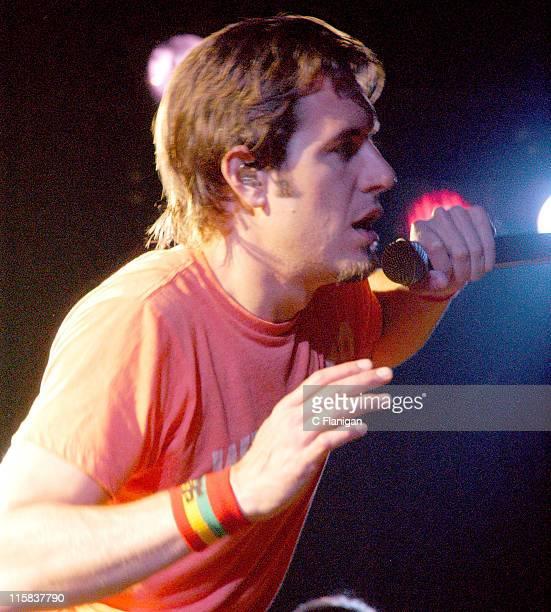 Nicholas Hexum of 311 during 311 in Concert July 28 2005 at Catalyst Nightclub in Santa Cruz California United States