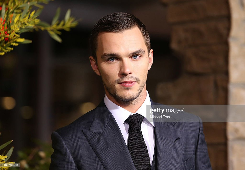 <a gi-track='captionPersonalityLinkClicked' href=/galleries/search?phrase=Nicholas+Hoult&family=editorial&specificpeople=598892 ng-click='$event.stopPropagation()'>Nicholas Hoult</a> arrives at the Los Angeles premiere of 'Jack The Giant Slayer' held at TCL Chinese Theatre on February 26, 2013 in Hollywood, California.