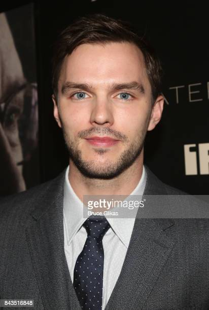 Nicholas Hoult arrives at the New York premiere of 'Rebel in The Rye' at Metrograph on September 6 2017 in New York City