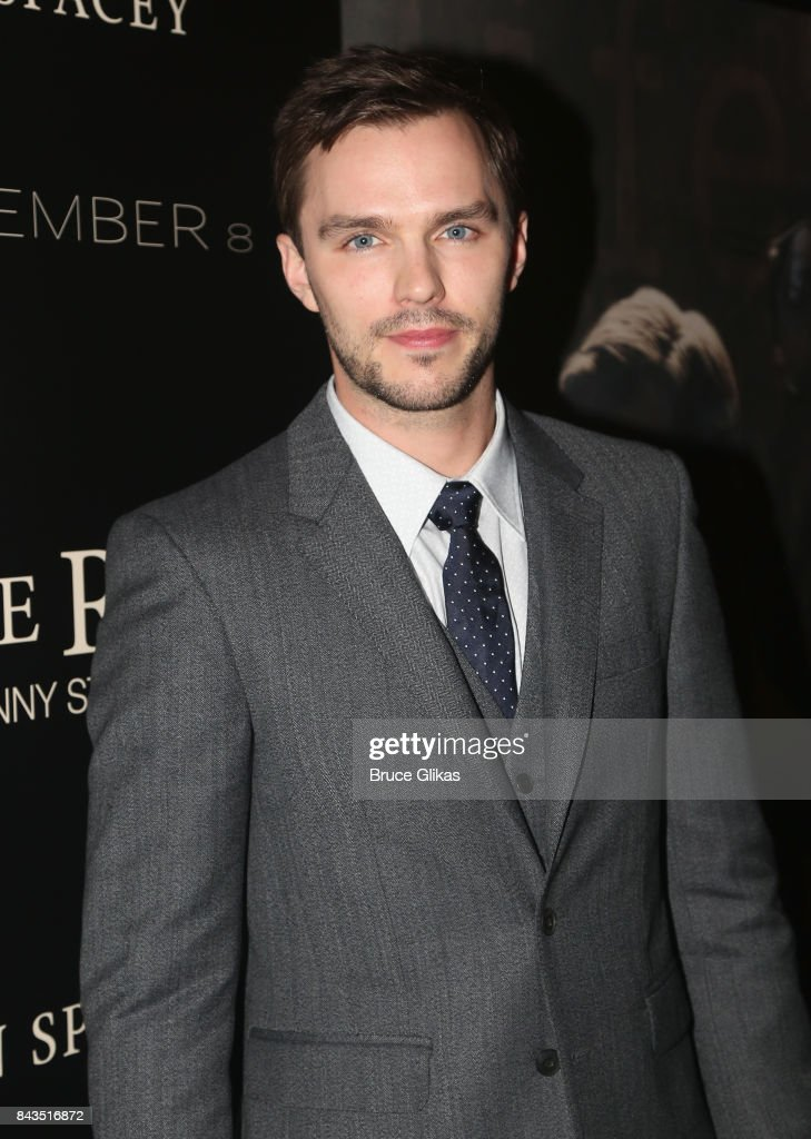 Nicholas Hoult arrives at the New York premiere of 'Rebel in The Rye' at Metrograph on September 6, 2017 in New York City.
