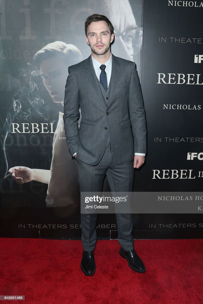 Nicholas Hoult attends 'Rebel in the Rye' screening and after party hosted by Jean Shafiroff and IFC Films at Metrograph on September 6, 2017 in New York City.
