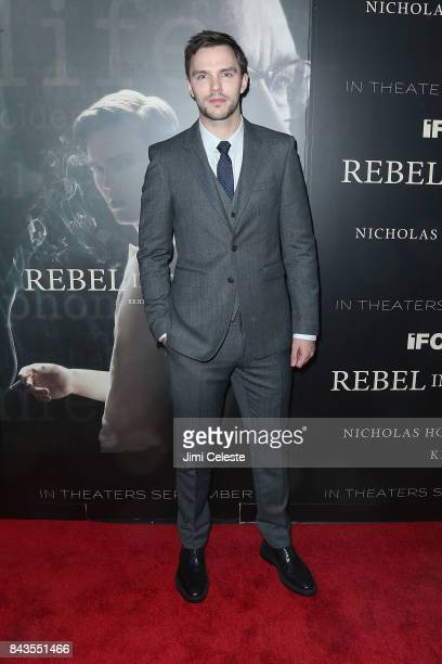 Nicholas Hoult attends 'Rebel in the Rye' screening and after party hosted by Jean Shafiroff and IFC Films at Metrograph on September 6 2017 in New...