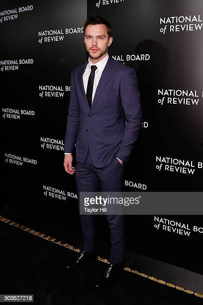 Nicholas Hoult attends the 2015 National Board of Review Gala at Cipriani 42nd Street on January 5 2016 in New York City
