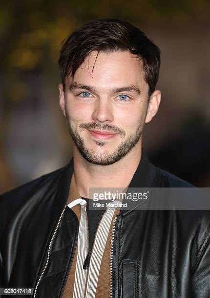 Nicholas Hoult attends the Burberry show during London Fashion Week Spring/Summer collections 2016/2017 on September 19 2016 in London United Kingdom