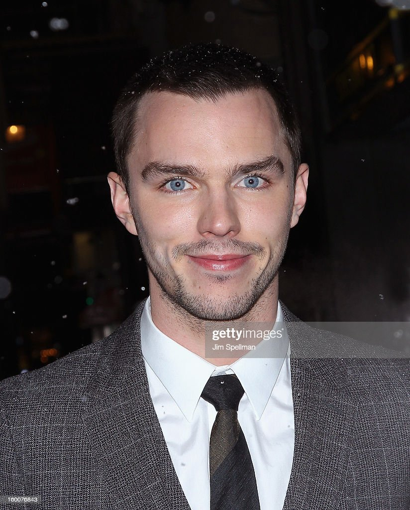 <a gi-track='captionPersonalityLinkClicked' href=/galleries/search?phrase=Nicholas+Hoult&family=editorial&specificpeople=598892 ng-click='$event.stopPropagation()'>Nicholas Hoult</a> attends The Cinema Society and Artistry screening of 'Warm Bodies' at Landmark's Sunshine Cinema on January 25, 2013 in New York City.