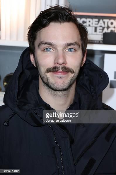 Nicholas Hoult attends the Creators League Studio At 2017 Sundance Film Festival Day 6 on January 24 2017 in Park City Utah