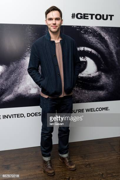 Nicholas Hoult attends the 'GET OUT' Special Screening at the Soho Hotel on March 13 2017 in London England