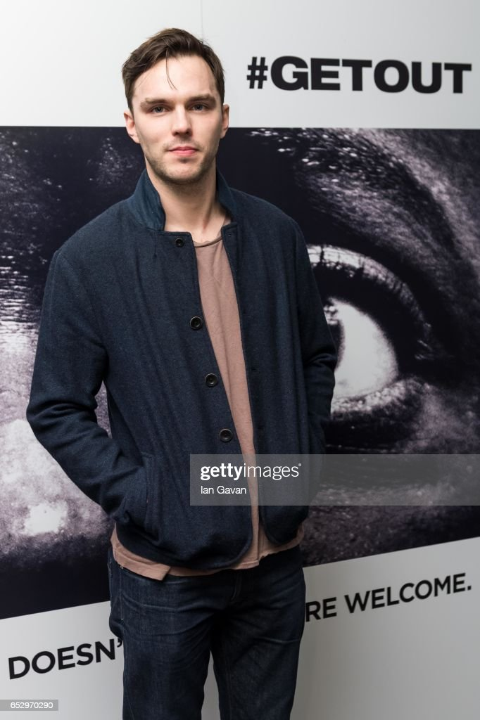 Nicholas Hoult attends the 'GET OUT' Special Screening at the Soho Hotel on March 13, 2017 in London, England.