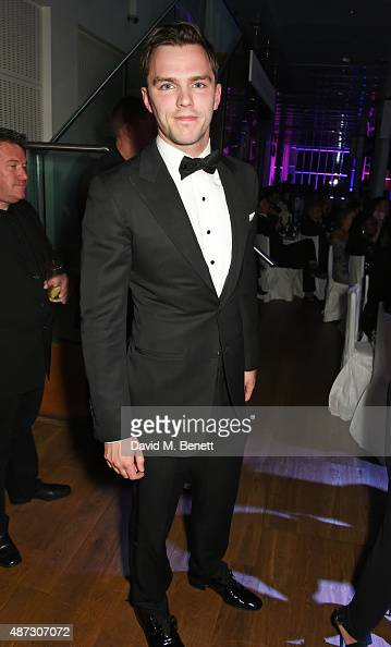 Nicholas Hoult attends the GQ Men Of The Year Awards at The Royal Opera House on September 8 2015 in London England