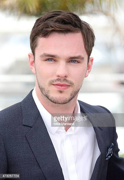 Nicholas Hoult attends the 'Mad Max Fury Road' Photocall during the 68th annual Cannes Film Festival on May 14 2015 in Cannes France