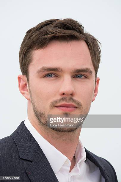Nicholas Hoult attends the 'Mad Max Fury Road Photocall Photocall during the 68th annual Cannes Film Festival on May 14 2015 in Cannes France