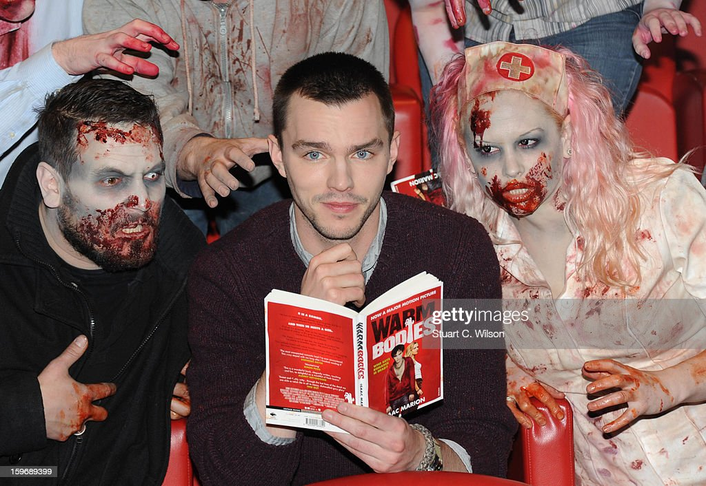 Nicholas Hoult attends the photocall for 'Warm Bodies' at Soho Hotel on January 18, 2013 in London, England.