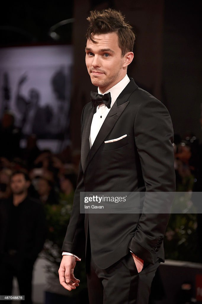 <a gi-track='captionPersonalityLinkClicked' href=/galleries/search?phrase=Nicholas+Hoult&family=editorial&specificpeople=598892 ng-click='$event.stopPropagation()'>Nicholas Hoult</a> attends the premiere of 'Equals' during the 72nd Venice Film Festival at the Sala Grande on September 5, 2015 in Venice, Italy.