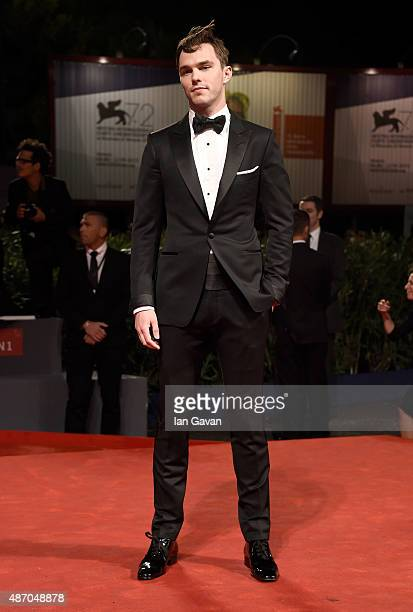 Nicholas Hoult attends the premiere of 'Equals' during the 72nd Venice Film Festival at the Sala Grande on September 5 2015 in Venice Italy