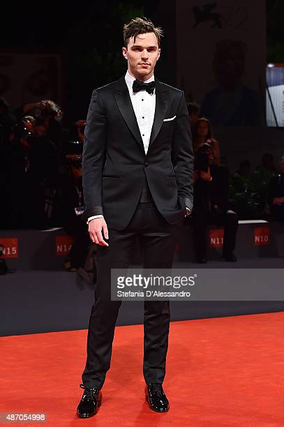 Nicholas Hoult attends the premiere of 'Equals' during the 72nd Venice Film Festival at Sala Grande on September 5 2015 in Venice Italy