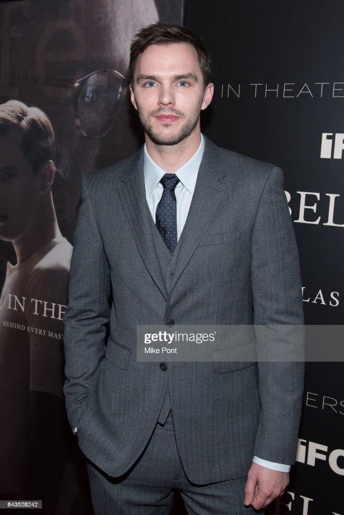 Nicholas Hoult attends the 'Rebel in the Rye' New York Premiere at Metrograph on September 6, 2017 in New York City.