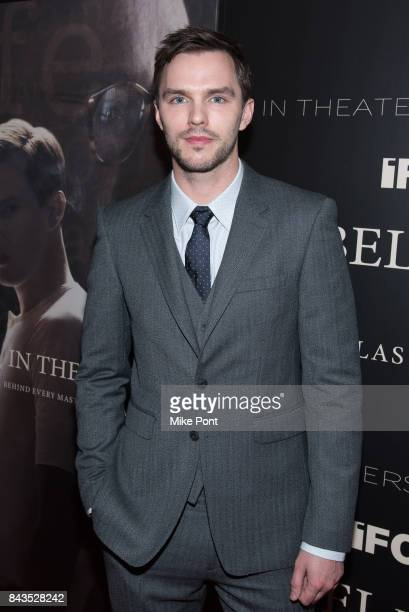 Nicholas Hoult attends the 'Rebel in the Rye' New York Premiere at Metrograph on September 6 2017 in New York City