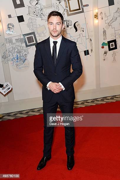 Nicholas Hoult attends the UK Premiere of 'Kill Your Friends' at Picturehouse Central on October 22 2015 in London England