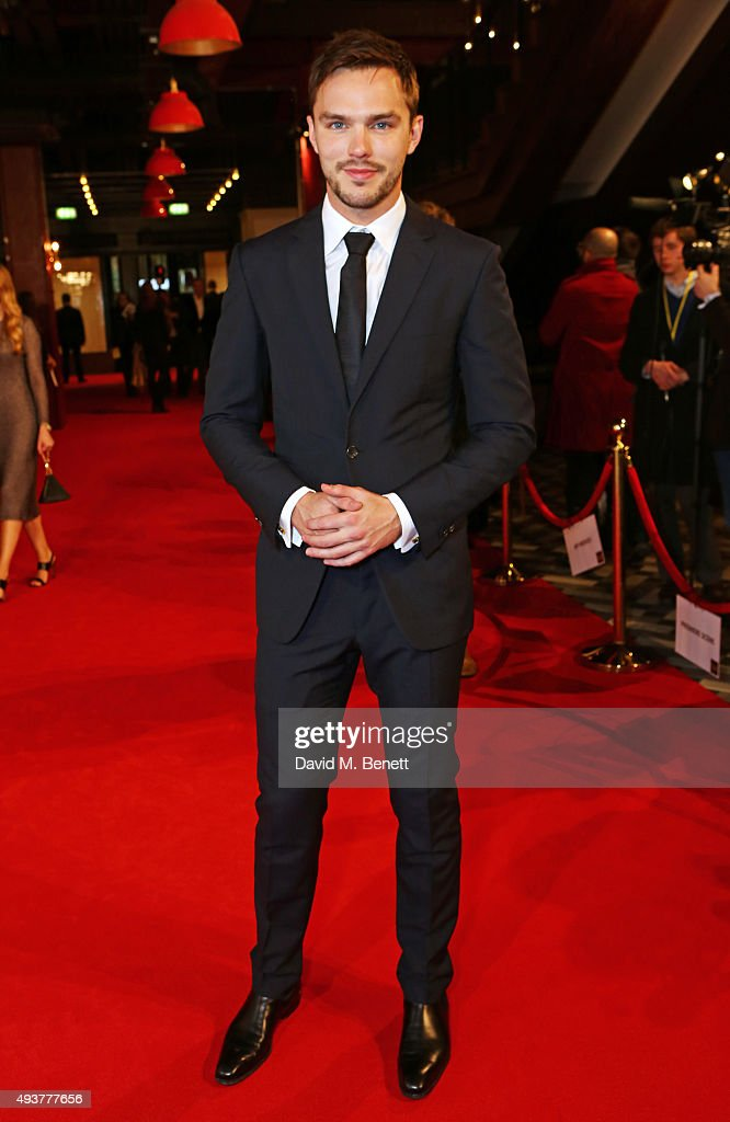 <a gi-track='captionPersonalityLinkClicked' href=/galleries/search?phrase=Nicholas+Hoult&family=editorial&specificpeople=598892 ng-click='$event.stopPropagation()'>Nicholas Hoult</a> attends the UK Premiere of 'Kill Your Friends' at the Picturehouse Central on October 22, 2015 in London, England.