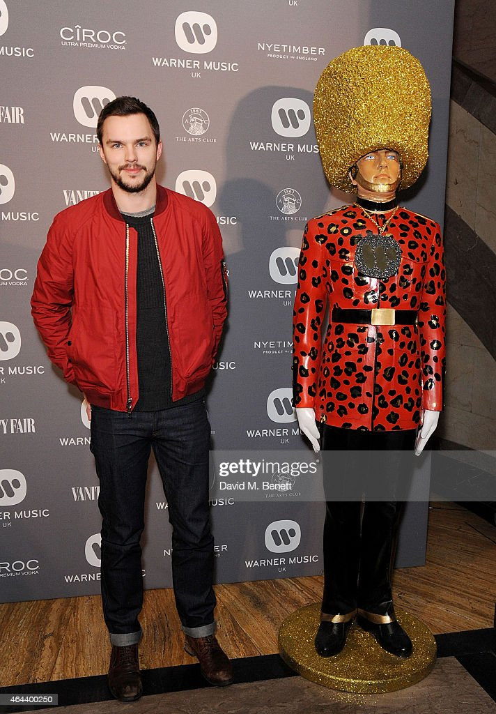 <a gi-track='captionPersonalityLinkClicked' href=/galleries/search?phrase=Nicholas+Hoult&family=editorial&specificpeople=598892 ng-click='$event.stopPropagation()'>Nicholas Hoult</a> attends The Warner Music Brit Party 2015 at Freemasons Hall on February 25, 2015 in London, England.