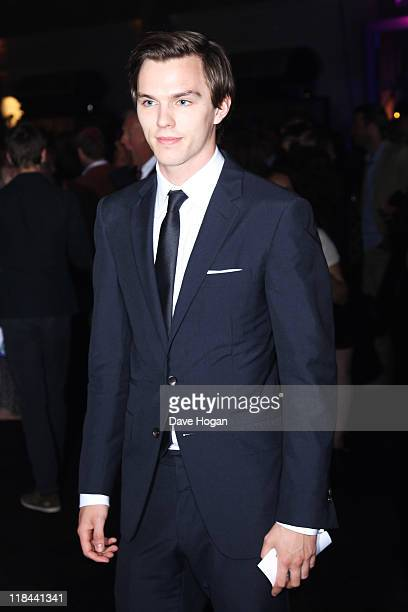 Nicholas Hoult attends the world premiere of Harry Potter and the Deathly Hallows Part 2 after party at Old Billingsgate Market on July 7 2011 in...