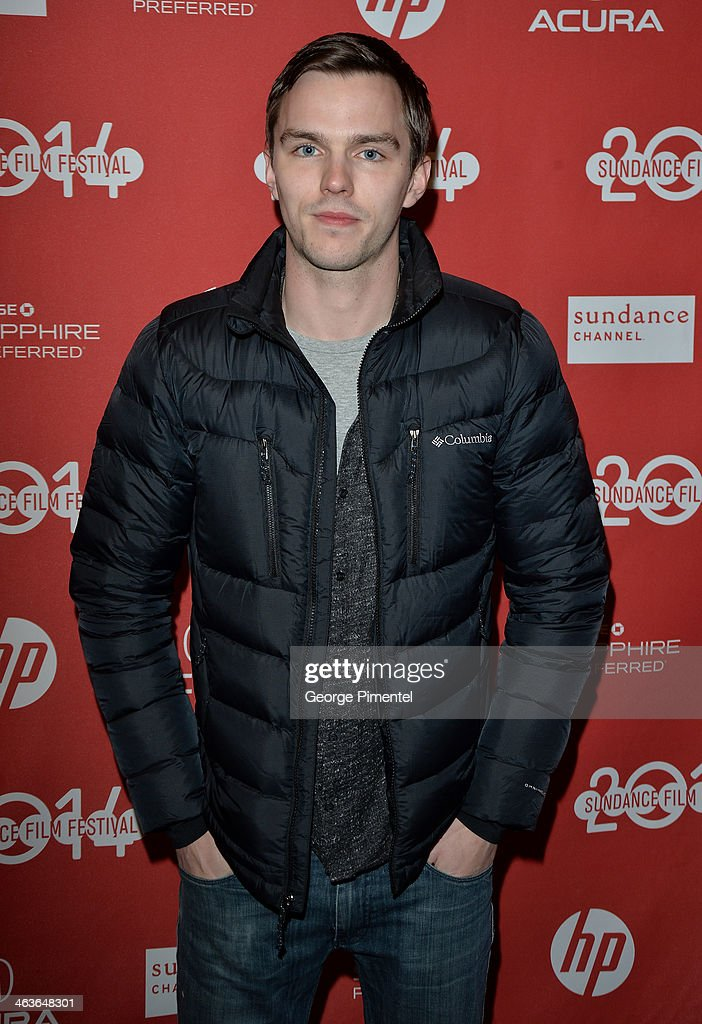 <a gi-track='captionPersonalityLinkClicked' href=/galleries/search?phrase=Nicholas+Hoult&family=editorial&specificpeople=598892 ng-click='$event.stopPropagation()'>Nicholas Hoult</a> attends the 'Young Ones' Premiere at Eccles Center Theatre on January 18, 2014 in Park City, Utah.
