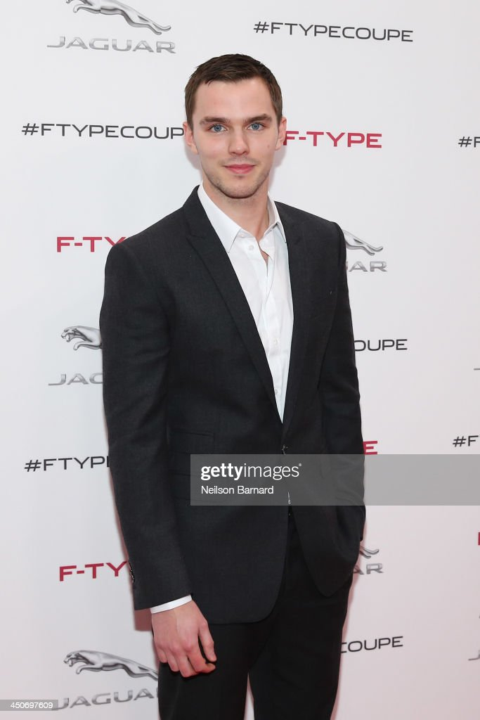<a gi-track='captionPersonalityLinkClicked' href=/galleries/search?phrase=Nicholas+Hoult&family=editorial&specificpeople=598892 ng-click='$event.stopPropagation()'>Nicholas Hoult</a> was on hand to celebrate the global debut of the 2015 Jaguar F-TYPE R Coupe, Jaguar's most performance focused vehicle ever, at an exclusive event held at Raleigh Studios on November 19, 2013 in Playa Vista City.