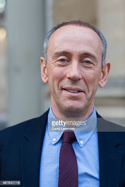 Nicholas Hytner theatre film and opera director on Day 6 of the FT Weekend Oxford Literary Festival on March 26 2015 in Oxford England