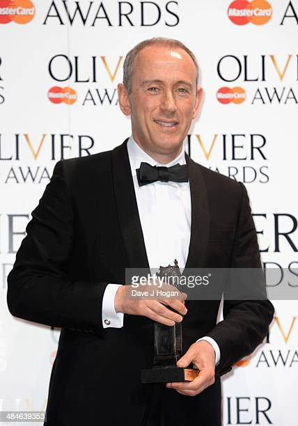 Nicholas Hytner with the Special award during the Laurence Olivier Awards at the Royal Opera House on April 13 2014 in London England