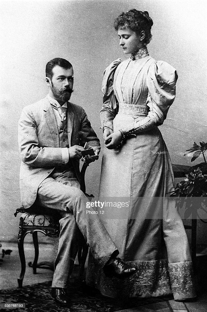 Nicholas II Alexandrovich and Alexandra Feodorovna