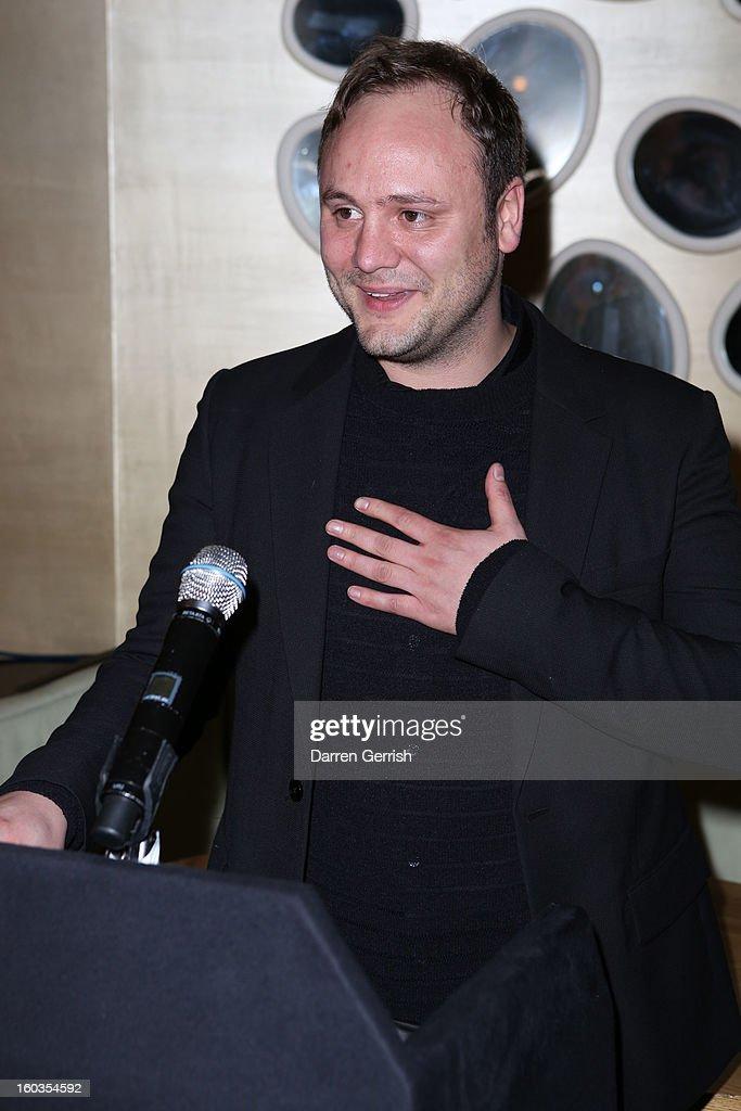 Nicholas Kirkwood at Nobu Berkeley on January 29, 2013 in London, England.