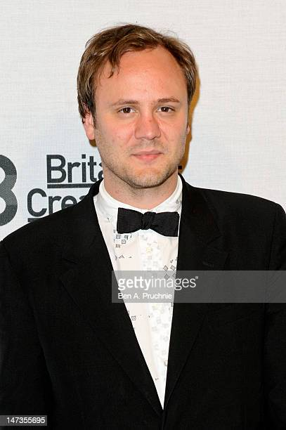 Nicholas Kirkwood attends Britain Creates 2012 Fashion Art Collusion at Old Selfridges Hotel on June 27 2012 in London England
