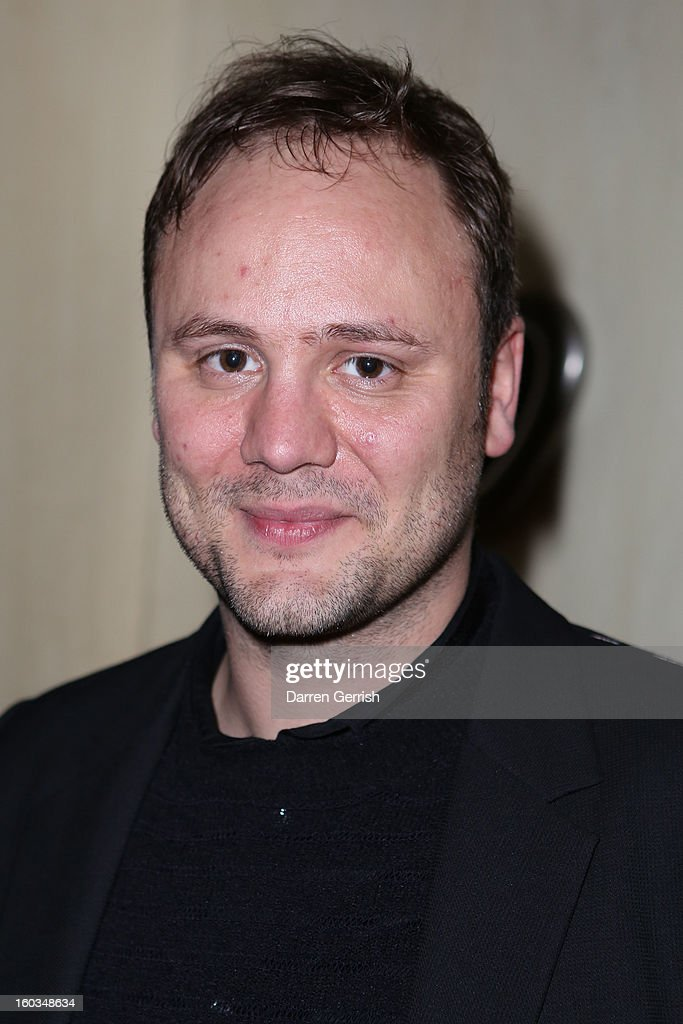 Nicholas Kirkwood attends Nobu Berkeley during the BFC/Vogue Designer Fashion Fund - Winners Announcement on January 29, 2013 in London, England.