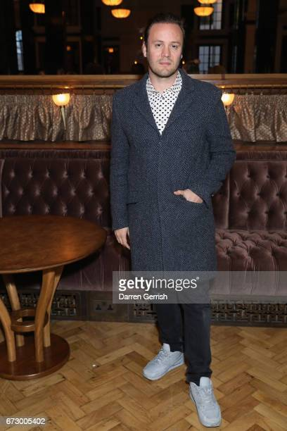 Nicholas Kirkwood attends Roland Mouret's The Dinner of Love at Cecconi's a preopening dinner at The Ned on April 25 2017 in London England
