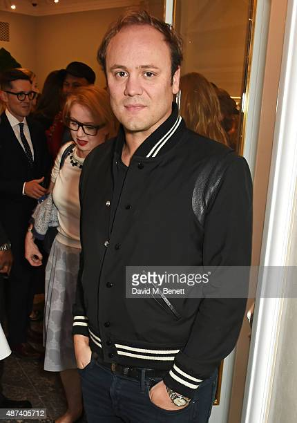 Nicholas Kirkwood attends the launch of the first Erdem flagship store on September 9 2015 in London England