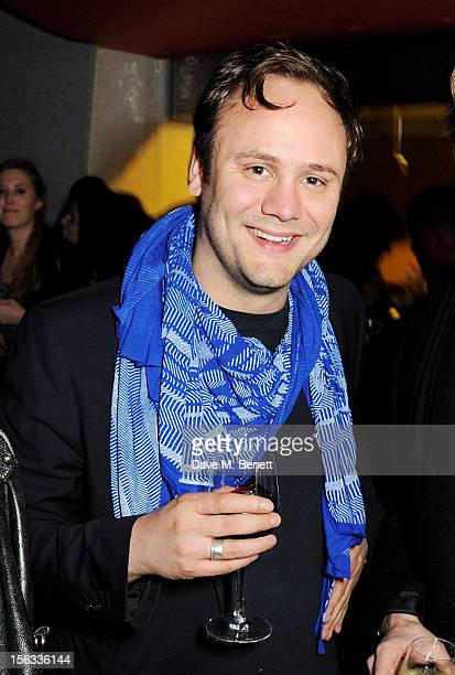 Nicholas Kirkwood attends the opening of new restaurant SushiSamba London in Heron Tower on November 13 2012 in London England