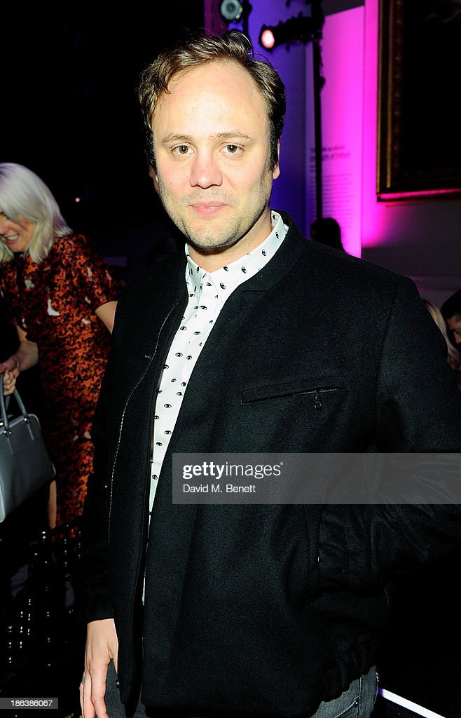 Nicholas Kirkwood attends The WGSN Global Fashion Awards at the Victoria & Albert Museum on October 30, 2013 in London, England.