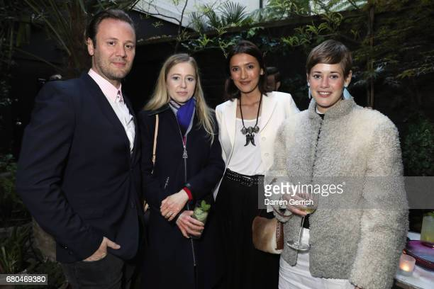 Nicholas Kirkwood Stephanie Watine Arnault Hikari Yokoyama and Shonagh Marshall attend the Clos19 Launch Dinner #Clos19Moments on May 8 2017 in...