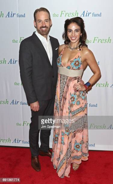 Nicholas Loeffler and Shari Loeffler attend the 2017 Fresh Air Fund Spring Benefit at Pier Sixty at Chelsea Piers on June 1 2017 in New York City