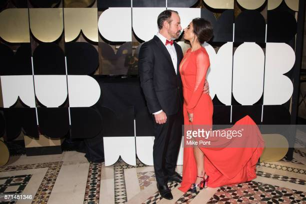 Nicholas Loeffler and Shari Loeffler attend the 2017 Museum of Arts Design MAD Ball at Cipriani 42nd Street on November 7 2017 in New York City