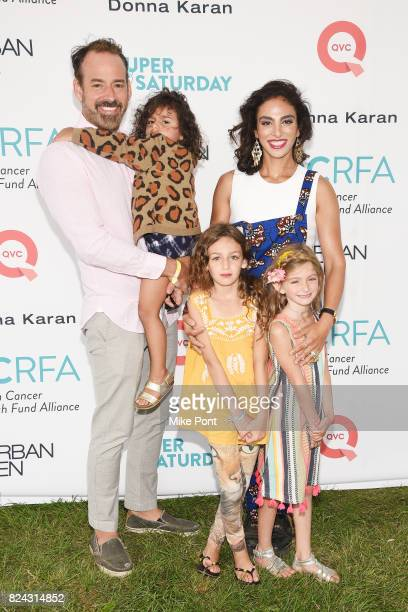 Nicholas Loeffler Scarlett Loeffler Savannah Loeffler Celine Loeffler and Shari Loeffler attend OCRFA's 20th Annual Super Saturday to Benefit Ovarian...