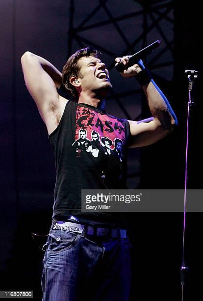 Nicholas Lofton Hexum of 311 performs at the Backyard in Austin Texas on July 4 2007