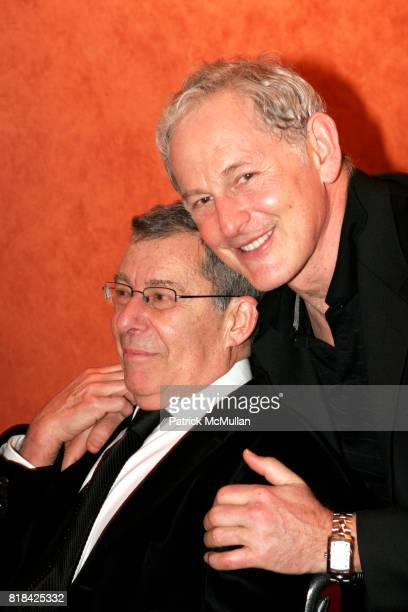Nicholas Martin and Victor Garber attend Opening Night of Present Laughter at American Airlines Theater on January 21 2010 in New York City