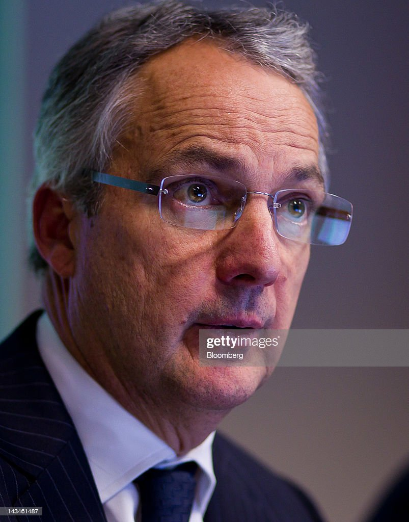 Nicholas Moore, chief executive officer of Macquarie Group Ltd., speaks during a media - nicholas-moore-chief-executive-officer-of-macquarie-group-ltd-speaks-picture-id143461487
