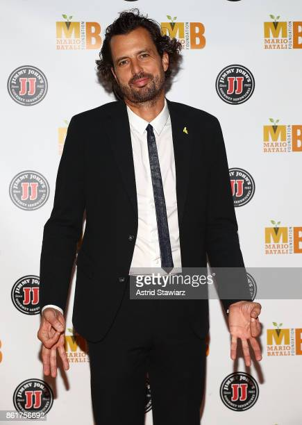 Nicholas Morgenstern attends 6th Annual Mario Batali Foundation Honors dinner at Del Posto on October 15 2017 in New York City