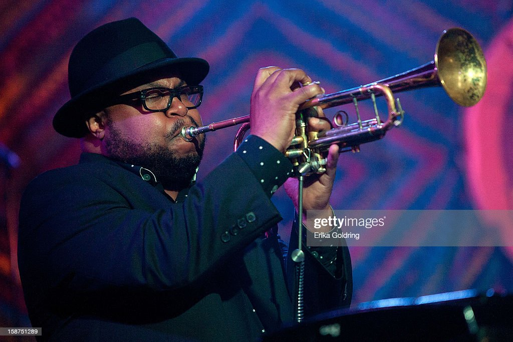 Nicholas Payton performs at George Porter, Jr.'s Birthday Bash at The Howlin' Wolf on December 26, 2012 in New Orleans, Louisiana.