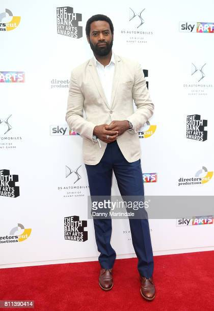 Nicholas Pinnock attending The Southbank Sky Arts Awards 2017 at The Savoy Hotel on July 9 2017 in London England