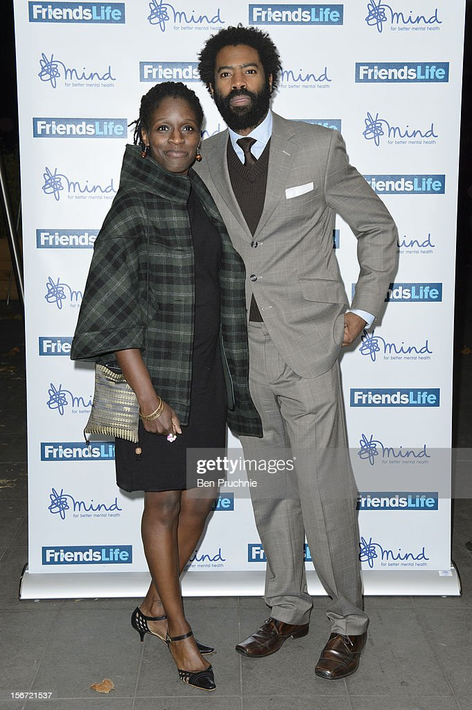 Nicholas Pinnock (R) attends the Mind Mental Health Media Awards at BFI Southbank on November 19, 2012 in London, England.