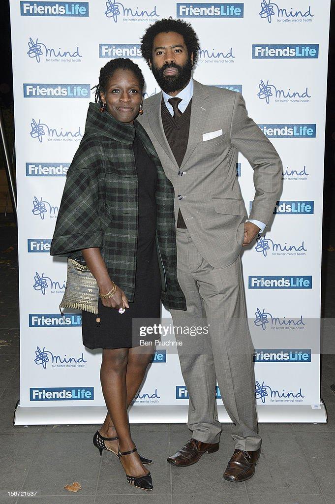 Nicholas Pinnock (R) attends the Mind Mental Health Media Awards at BFI Southbank on November 19, 2012 in London, England.