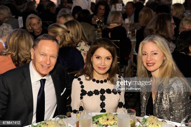 Nicholas Ratut Jean Shafiroff and Kristina Ratut attend Fountain House Symposium and Luncheon at The Pierre Hotel on May 1 2017 in New York City